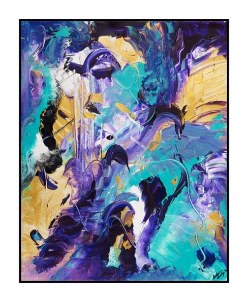 Dolphin's Waterfall Print